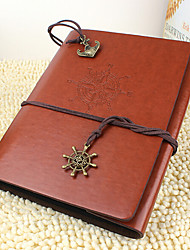 DIY 18*22 cm Leather Cover Handmade Scrapbook Photo Album 30pcs Black Paper for Family/Baby/Lovers/Gifts Red/Coffee