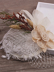 Women's Fabric Headpiece-Wedding / Special Occasion Fascinators 1 Piece