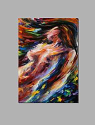 абстрактной обнаженной леди искусства стены домашний декор отеля расписанную маслом готовы повесить с рамкой