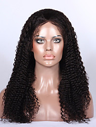 7A Glueless Silk Top Lace Hair Wigs Brazilian Kinky Curly Front Lace Wigs Lace Front Human Hair Wigs For Black Women