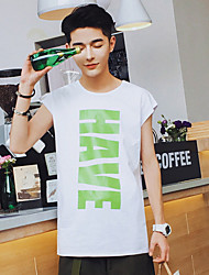 New Brand Men Tank Tops Casual Sport Shirts Have Letter Printed Summer Vest For Man Total 2 Colors