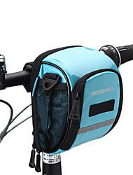 ROSWHEEL® Bolsa de Bicicleta 1.8LBolsa para Guidão de BicicletaZíper á Prova-de-Água / Á Prova de Humidade / Camurça de Vaca á