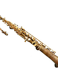 B The Alto Saxophone Bare Copper Sachs Perfect Sound Quality