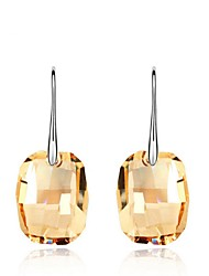 Thousands of colors Solitaire Earrings Women's Alloy Earring Crystal-2-170