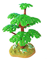 Micro Landscape Plants  Sand Table Model Simulation Tree Ornaments Mini Resin Fleshy Gardening 10Pcs