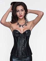 Для женщин Корсет под грудь / Классический корсет / Набор с корсетом / Большие размеры Ночное бельеСексуальные платья / Увеличивающий