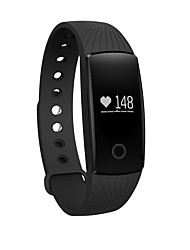 ZS107 Smart Bracelet Activity TrackerLong Standby Pedometers Heart Rate Monitor Alarm Clock Distance Tracking Sleep Tracker Timer