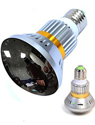 Wireless Bulb  camera with mirror cover and invisible IR light at night