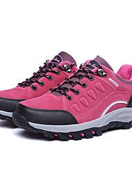 Women's Shoes Fleece Flat Heel Comfort Fashion Sneakers Outdoor Black / Green / Purple / Gray / Fuchsia / Khaki