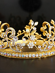 Women's Crystal / Alloy Headpiece-Wedding / Special Occasion Tiaras 1 Piece