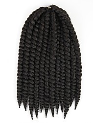 1-12Packs Short Hair Braids Black Havana Twist Braid Havana Hair Crochet Braid Twist Hairstyles