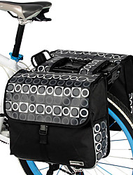 ROSWHEEL® Bike Bag 28LPanniers & Rack Trunk / Shoulder Bag Waterproof / Shockproof / Wearable Bicycle Bag PVC / 600D Polyester Cycle Bag
