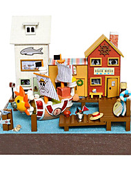 Chi Fun House Diy Hut Piece Adventure Wanli No. Valentines Day Gift Hand-Assembled Model House