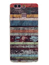 motif rayé creux tpu couleur Matériau du téléphone logiciel pour huawei p9 / p9 Lite