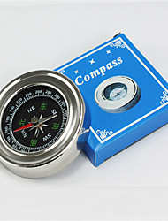 Compasses Pocket / Convenient Hiking / Camping / Travel / Outdoor Stainless Steel Silver