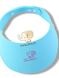 EVA Cartoon Safe Shampoo Shower Cap  Bath And Sunshade Protect Soft Cap Hat For Baby Children Kids