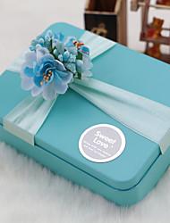 6 Stück / Set Geschenke Halter-Quader Metall Geschenk Schachteln Nicht personalisiert
