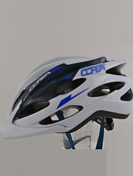 Men's Sports Bike helmet 24 Vents Cycling Cycling / Mountain Cycling / Road Cycling PVC White