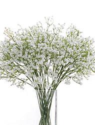 Polyuréthane Gypsophila Fleurs artificielles