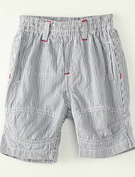 Boy's Polyester Shorts,Summer Striped