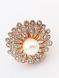 Fashion Boutique Sunflowers Pearl Ring
