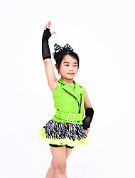 Children Dance Dancewear Kids' Jazz Dress Outfits Kids' Tap & Jazz Dance Wear