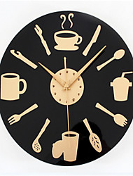 Spoon Knife And Fork Wall Clock