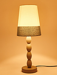 Retro Single Head Metal with Fabric Shade Table Lamp for Indoor House Decorate Dest Lamp