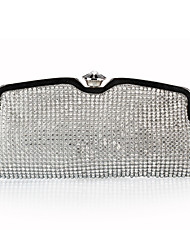 Women-Formal / Event/Party / Wedding / Office & Career / Shopping-Polyester-Evening Bag-Gold / Silver / Black