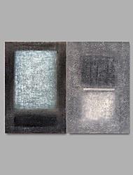 Ручная роспись Абстракция Modern,2 панели Hang-роспись маслом