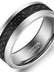 Band Rings Tungsten Steel Fashion Vintage Jewelry Wedding Party Daily Casual 1pc