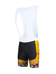ILPALADINO Cuissard à Bretelles de Cyclisme Homme Vélo Cuissard à bretellesRespirable Séchage rapide Pare-vent Design Anatomique
