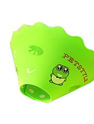 Dog Collar Waterproof / Soft Green / Blue / Pink / Yellow Rubber