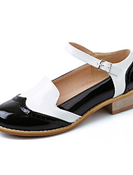 Women's Shoes Leatherette Spring / Summer / Fall Heels Heels Wedding / Party & Evening / Dress / Casual Chunky Heel