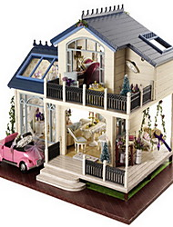 Creative Gift Chi Fun House Diy Cabin New Provence With Cars