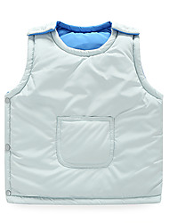Boy's Casual/Daily Solid Vest,Cotton / Polyester Winter / Fall Blue / Gold / Red