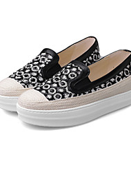 Women's Shoes  Fall Creepers / Comfort / Round Toe Loafers & Slip-Ons Outdoor / Dress / Casual Platform Slip-on