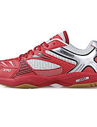 Femme-Sport-Jaune / Rouge-Talon BasSneakers-Tulle