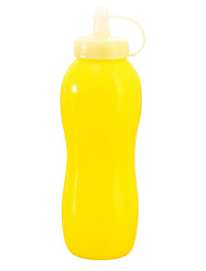 Random Color Squeeze Bottle For Ketchup Salad