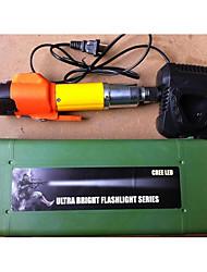 recarregável, bateria de lítio, cabo de reta, grande torque chave de fenda elétrica