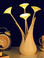 le vase petite lumière de nuit usb de forme optique
