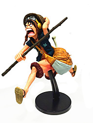 One Piece Luffy Anime Action Figures Model Toy