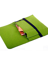 13inch Computer Bag is Suitable For Tablet Laptop Cases Felt Bag Green