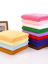 "1PC Microfiber Bath Towel 55"" by 27"" Solid Multicolor Super Soft"