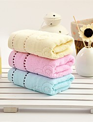 "1 Piece Full Cotton Hand Towel 28""by13"" Solid Pattern MultiColor Super Soft"