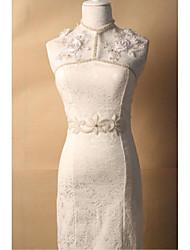 Tricot Mariage Ceinture-Strass Femme 180cm Strass