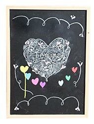 The Wood Frame Magnetic Blackboard for Office