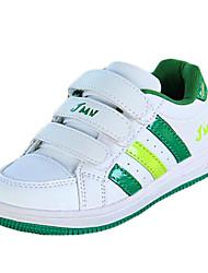 Garçon-Extérieure / Décontracté-Bleu / Vert-Talon Plat-Bout Arrondi-Sneakers-Polyuréthane