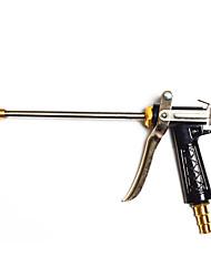 alta presión extensión pistola de agua de lanza de cobre varilla