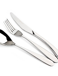 Stainless Steel Dinner Fork / Dinner Knife / Teaspoon Spoons / Forks / Knives 3-piece